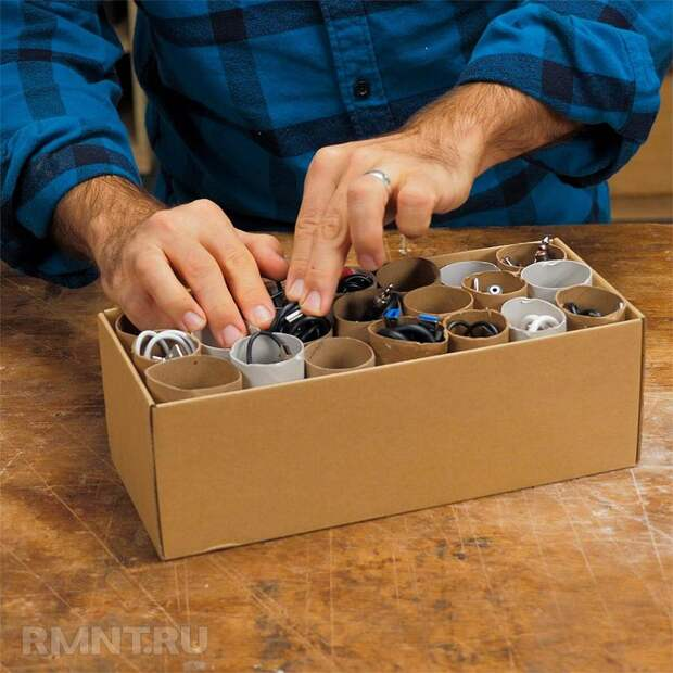 Органайзеры для шнуров и кабелей