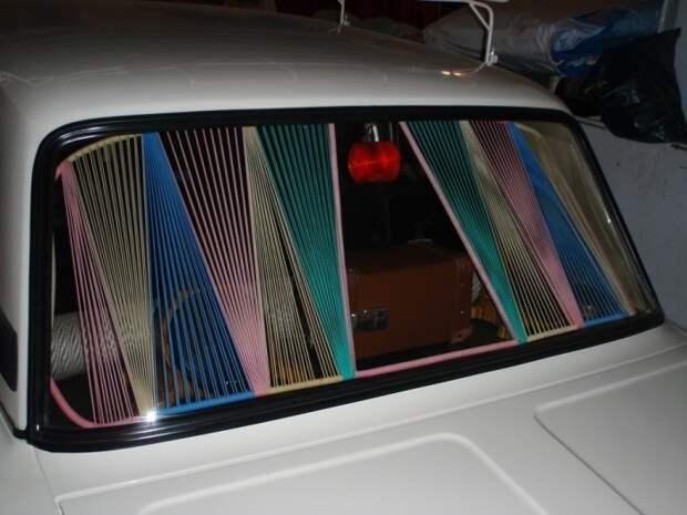 Такие шторки делали кооперативы для разных моделей автомобилей. | Фото: drive2.ru.