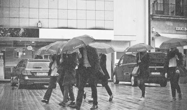Синоптики пообещали дождливую погоду впонедельник вРостове