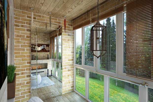 Как нестандартно использовать балкон: 4 квадратных метра в Сургуте