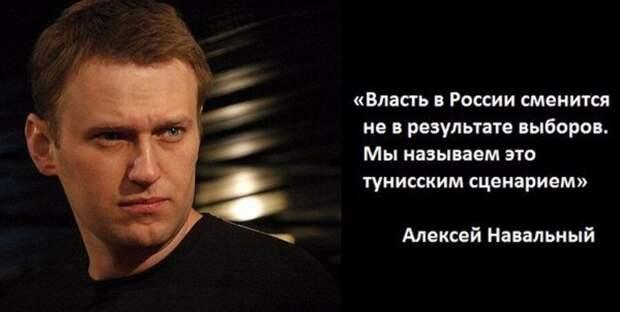 Странности Алексея Навального