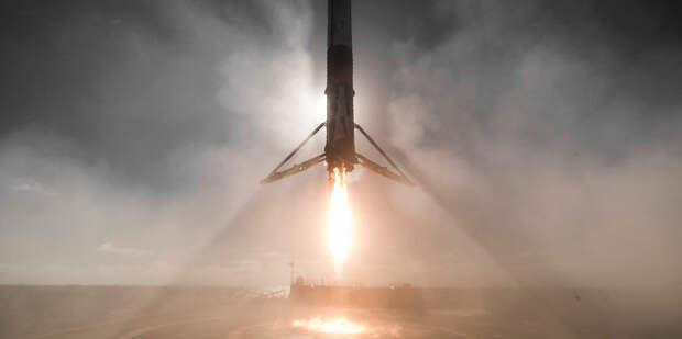 Прототип космического корабля SpaceX взорвался