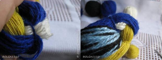 Синички и воробушки из пряжи. Мастер-класс (18) (700x262, 180Kb)