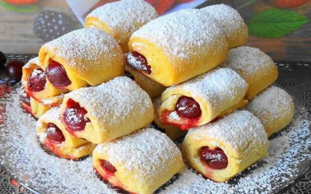 Печенье Вишня под снегом. Десерт, которые напомнит о детстве, домашнем уюте 4
