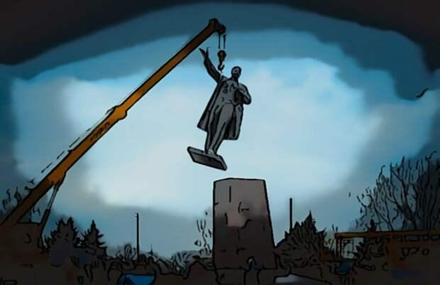 Майкл Бом предложил нам снести памятники Ленину и Сталину, последовав примеру США