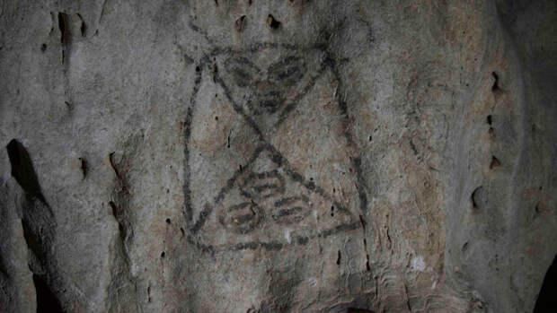 Доколумбовы рисунки раскрыли душу индейцев