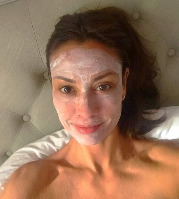 маски из крахмала для увядающей кожи