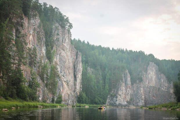 7 самых красивых скал Чусовой