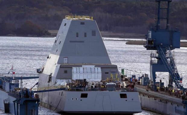 Замволт: как устроен корабль-невидимка