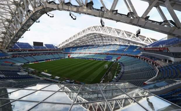 Сборная России проведет матч отбора ЧМ-2022 против Словении на стадионе «Фишт» в Сочи