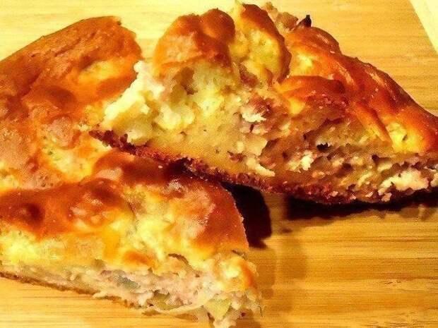 Пирог с мясом «быстрее и легче не бывает». Выручит в любой ситуации!