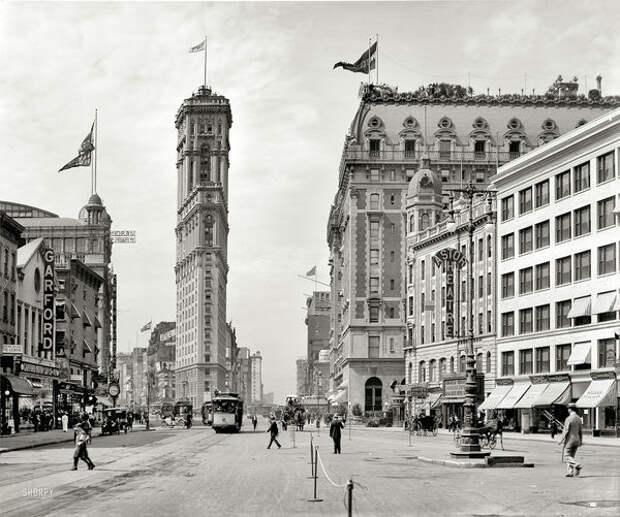 Машина времени (фото США начала прошлого века)