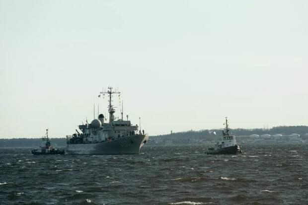 ВБалтийском море стартовали манёвры НАТО Open Spirit