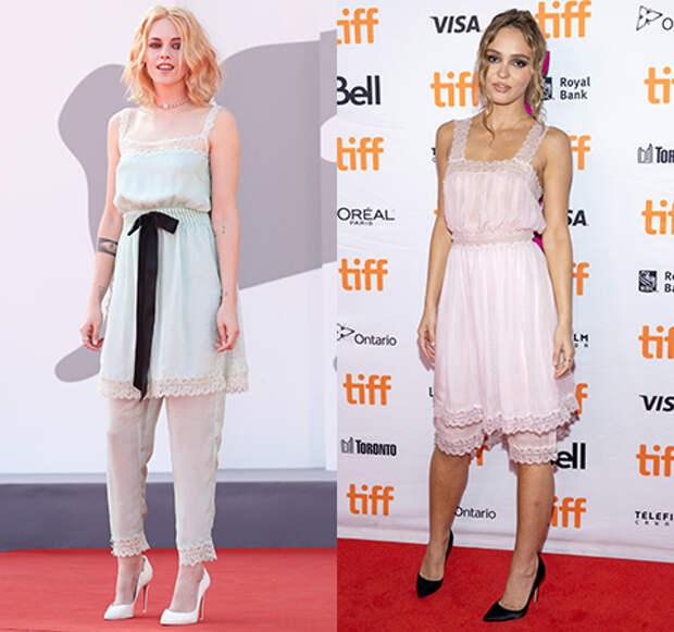 Модная битва: Кристен Стюарт против Лили-Роуз Депп