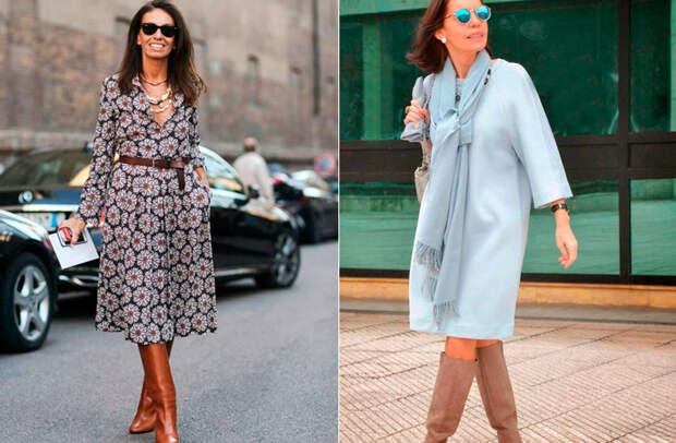 Модные платья на осень для женщин 50 лет: как выглядеть женственно в прохладную погоду