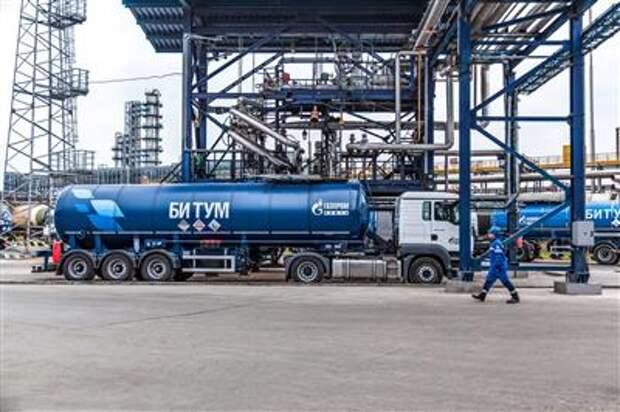"""Новые технологии позволят """"Газпром нефти"""" увеличить выпуск высококачественных битумов"""