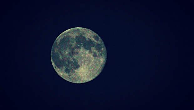 Самую большую Луну года смогут наблюдать жители Московского региона в ночь на вторник