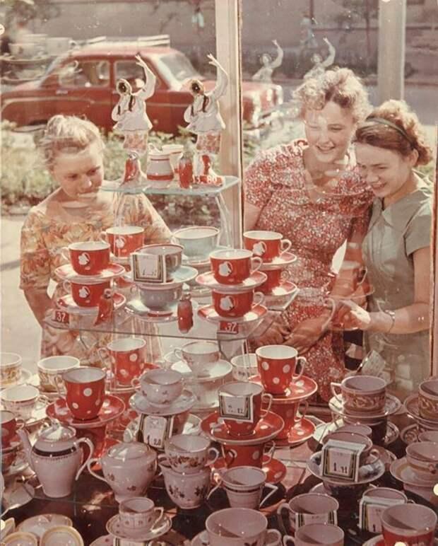 Советские фотографии о жизни в условиях дефицита