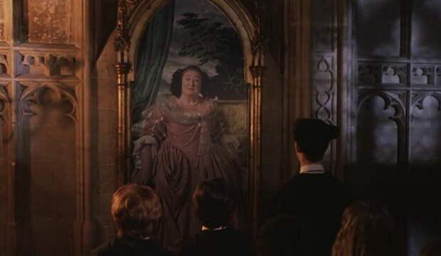 Полная Дама охраняет от чужих гостиную Гриффиндора