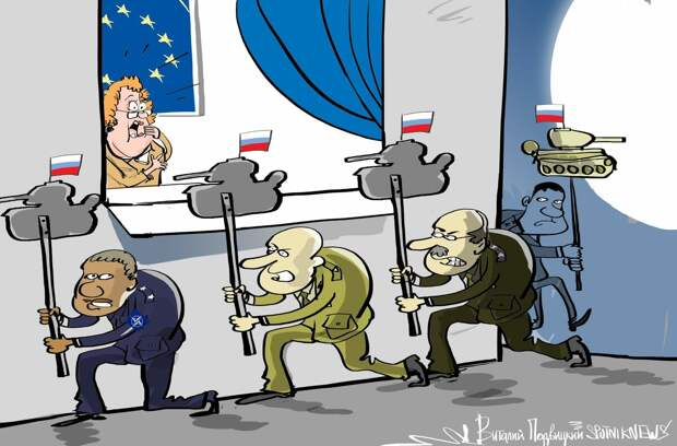 Фатальное бессилие Запада и страх перед Россией