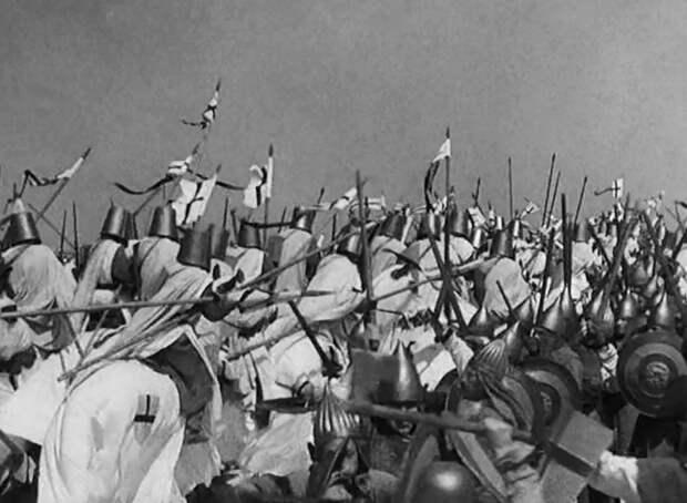 Кадр из худ. Фильма «Александр Невский», 1938&nbsp;г. <br>