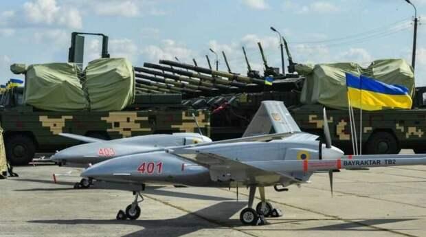 Украина разработает новые дроны-камикадзе