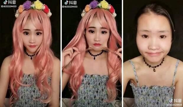 К такому жизнь меня не готовила: 20 азиатских девушек снимают мэйк-ап Мэйк-ап, азия, девушки, до и после, красота, макияж