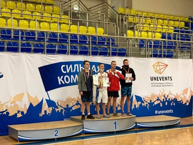 Юный пловец из Куркина завоевал серебряную медаль на Чемпионате Москвы