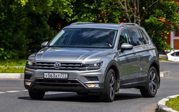 Volkswagen Tiguan из парка ЗР: автопилоту не верить?