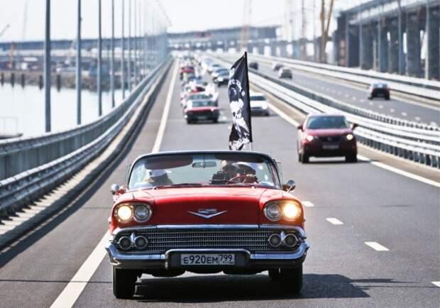 Подъезд к Крымскому мосту перекрыли до 1 октября