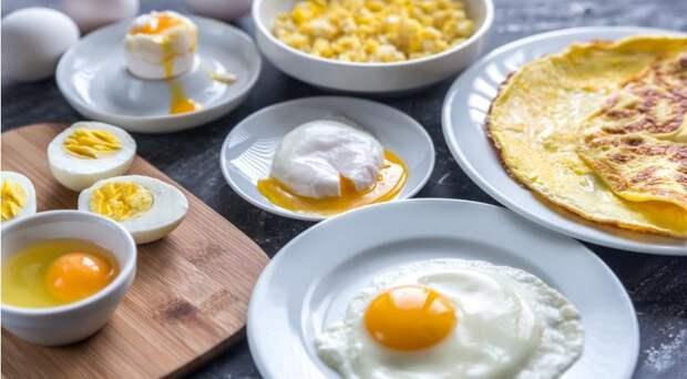 Различные способы приготовления яиц. Какое наиболее подезно?