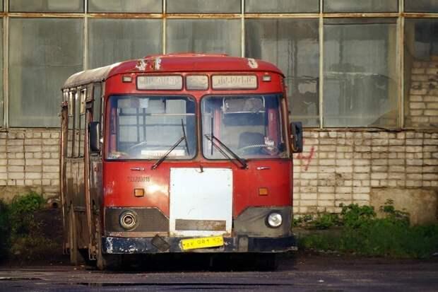 Тот самый резерв ''между небом и землёй'': отсюда можно уехать как в металлолом, так и вдруг воскреснуть на линии… Арзамас, ЛиАЗ 677, автобус, автомир, лиаз, общественный транспорт, ретро техника
