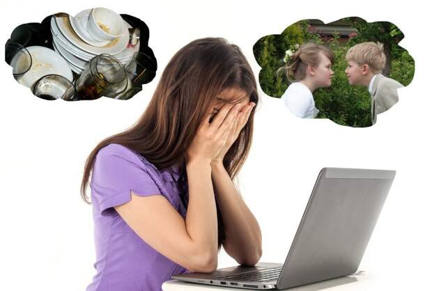 stressed-woman-3403423_1280-1024x691 Как женщине совместить успешный бизнес со счастливой семьей