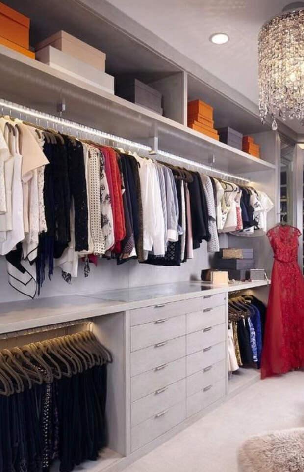10 лайфхаков при проектировании гардеробной.