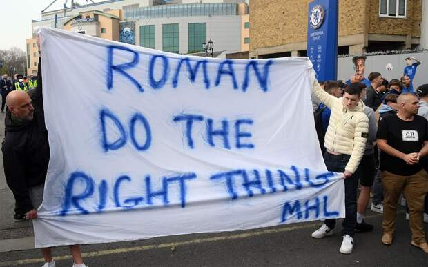 «Роман, поступи правильно». Фанаты «Челси» обратились к Абрамовичу, осудив создание Суперлиги