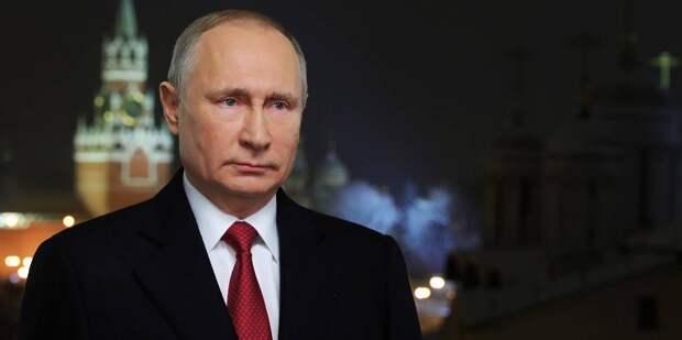 Спойлер: Новогоднее обращение Владимира Путина к россиянам