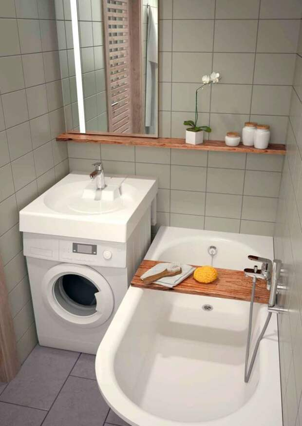 Идеи, которые помогут превратить крохотную ванную в райское место