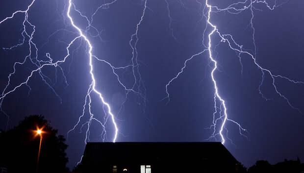 Жителей Подмосковья предупредили о сильном ветре и грозе в пятницу