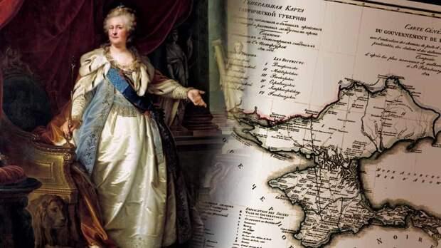 19 апреля - новая памятная дата. День принятия Крыма, Тамани и Кубани в состав Российской империи