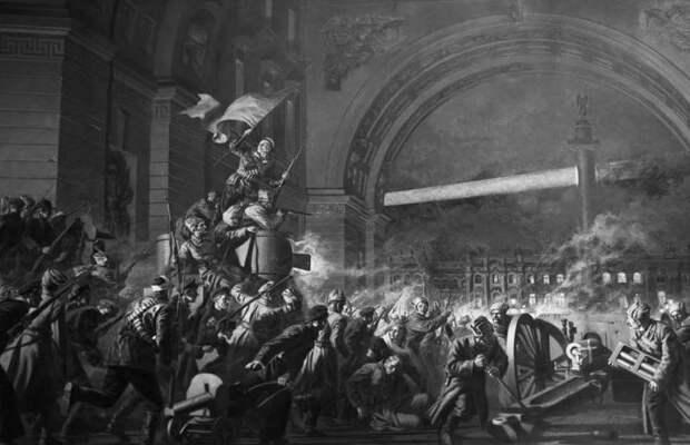 Октябрьскую революцию совершили царские генералы