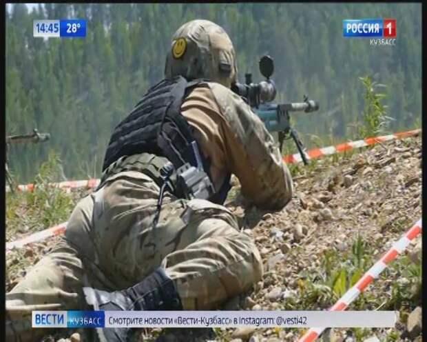 Кемеровские снайперы завоевали второе место на окружном турнире подразделений специального назначения