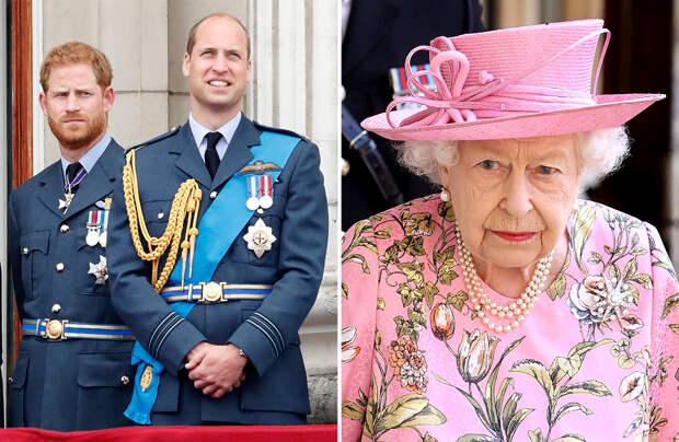 Принц Уильям больше не доверяет брату, и только Елизавета II может это исправить