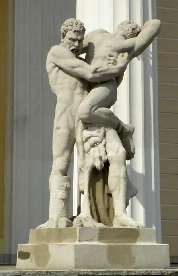 Античные мифы в камне