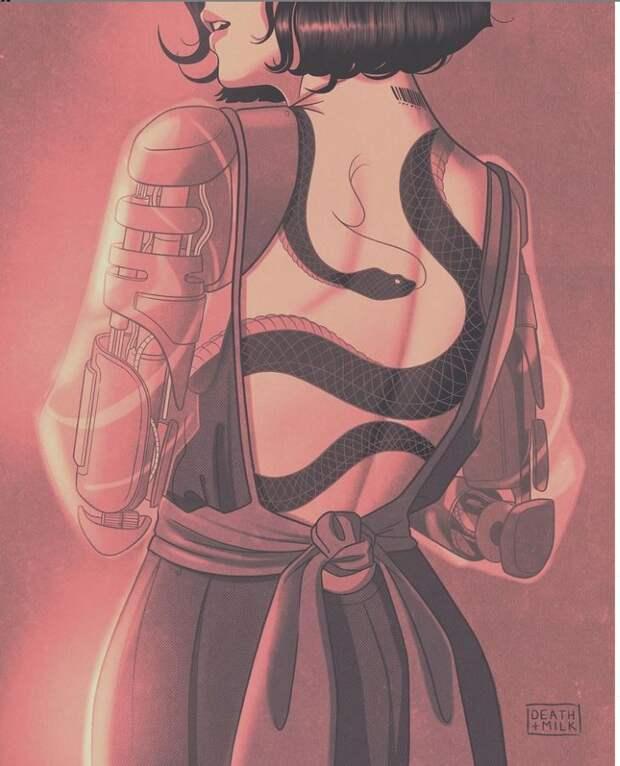 киберпанк-иллюстрации от Death & Milk (25).JPG