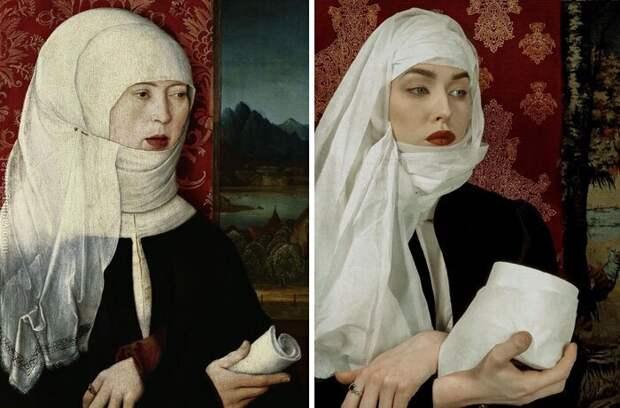 30 лучших карантинных ремейков знаменитых картин ИЗО-Изоляция