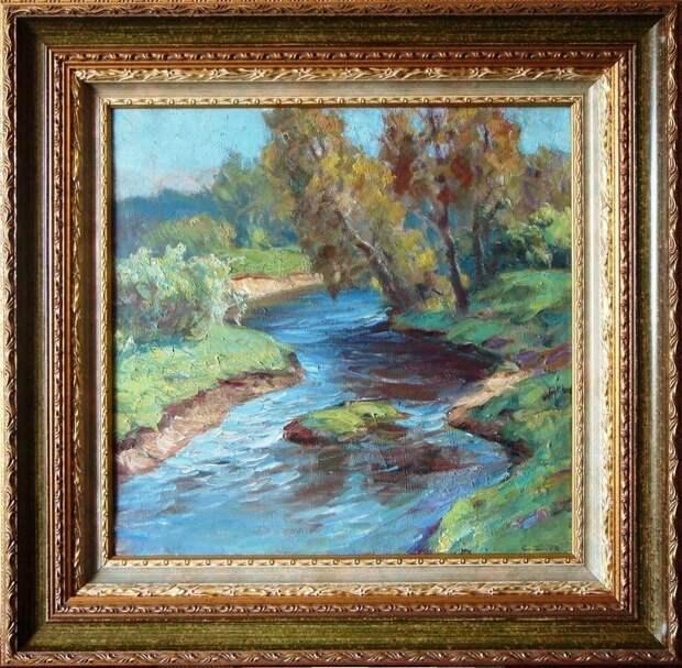 В Китае за $120 000 продана картина советского художника Чеслава Знамеровского