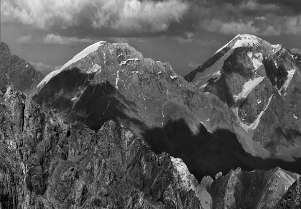 bnwmountains10 Черно белые фотографии гор