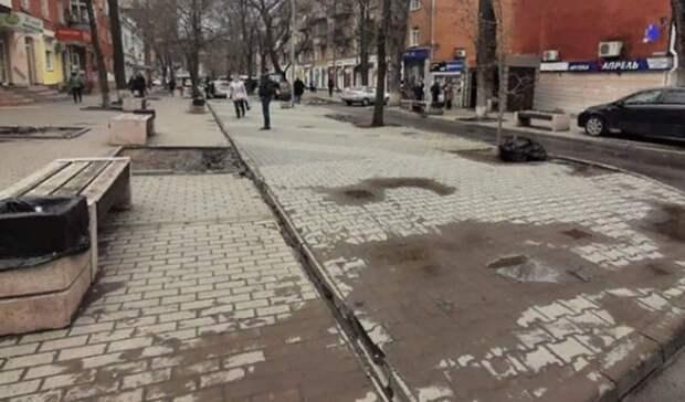 Власти Ростова заявили оликвидации ларьков наСержантова после скандала
