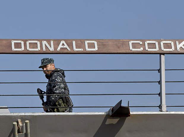 Зачем американский эсминец «Дональд Кук» подошел к Крыму и почему российских военных это радует