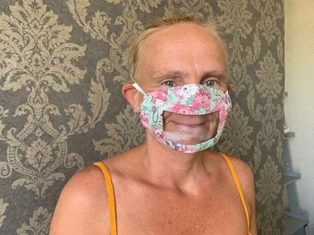 Зачем нужны специальные маски спрозрачным окошком